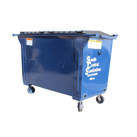 Commercial trash bin for South Central Sanitation